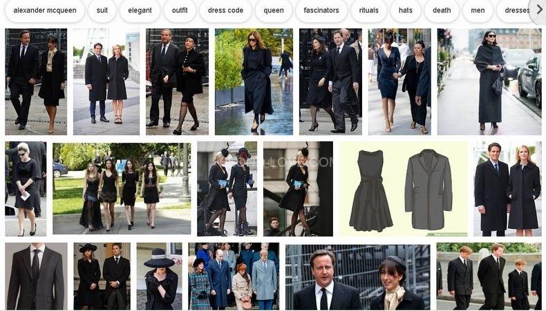 イギリスの葬儀でもドレスコードはあります
