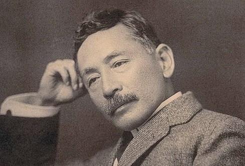 夏目漱石の口ひげ