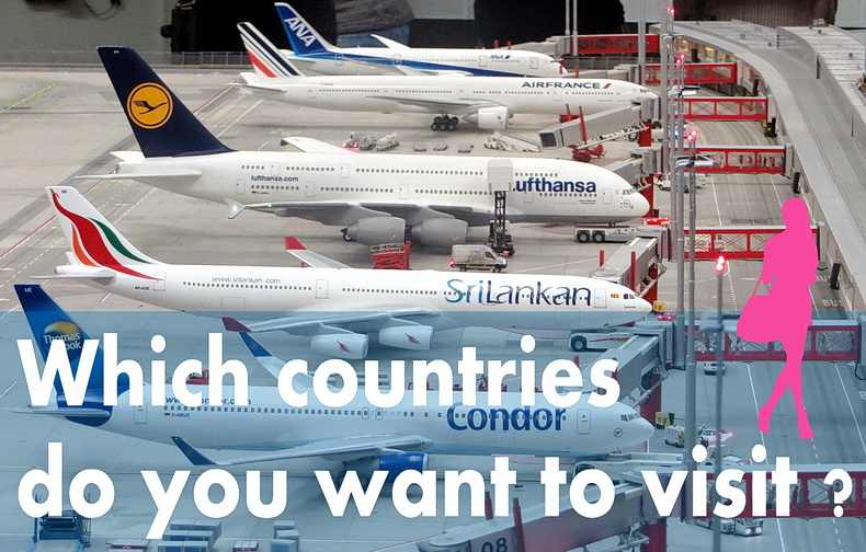 行きたい海外旅行先の選びかたのコツは2つ