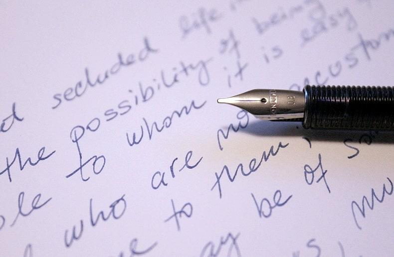 ファーストメッセージも「手紙」だから定型はある