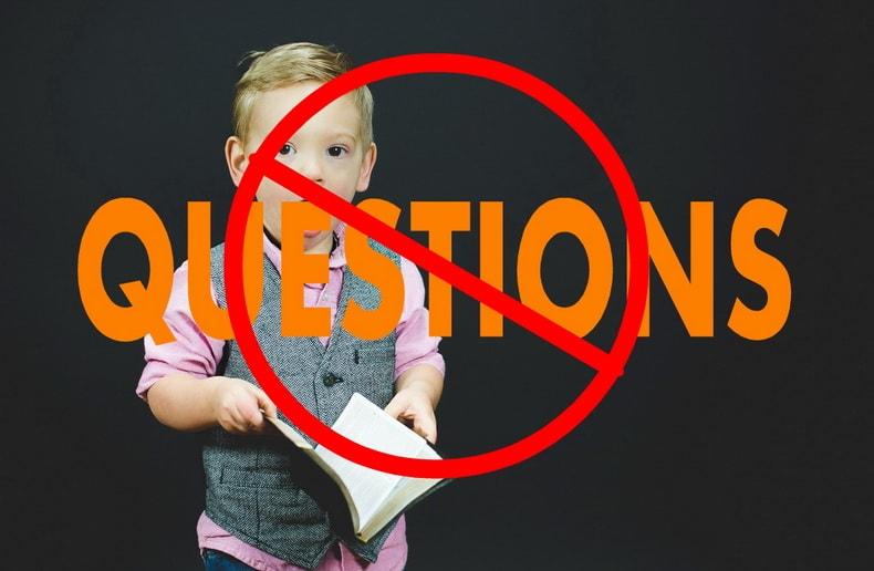 あなたの質問に全く答えていないメッセージ